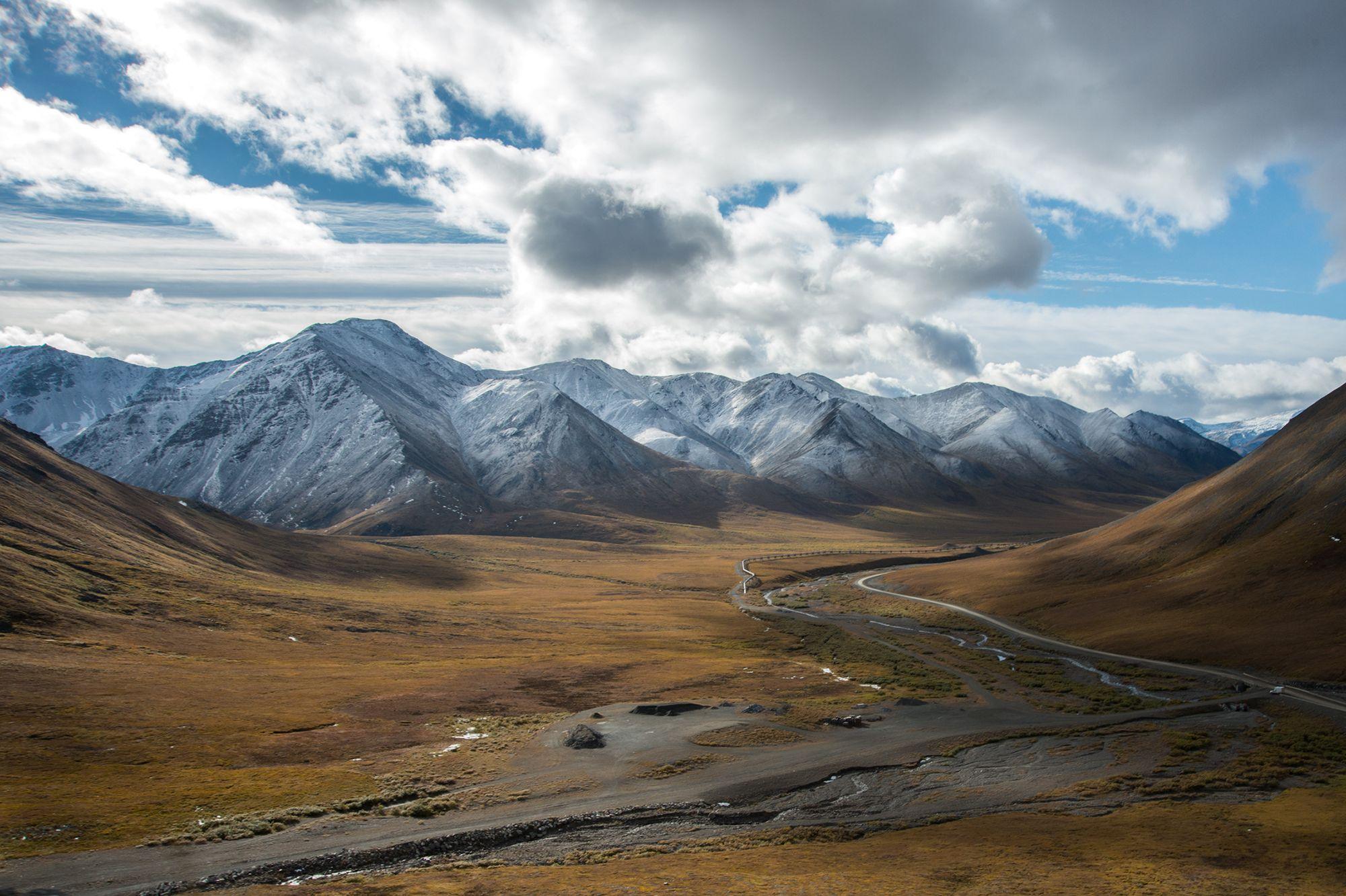 Alaskan Mountains - Fairbanks RV Park