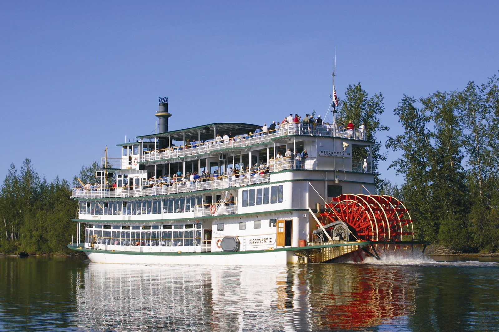 Riverboat Discovery - Fairbanks Tours
